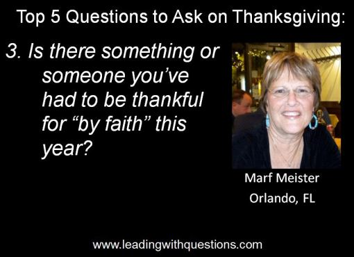 Questions to ask on Thanksgiving 3
