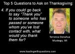 Questions to ask on Thanksgiving 4