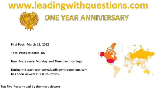 LWQ One Year Anniversary